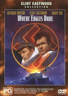Where Eagles Dare - CED cover