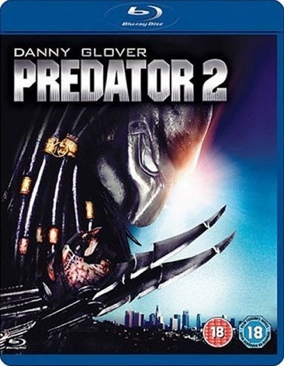 Predator 2 - DVD cover