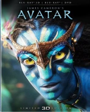 Avatar 3D - Blu-ray cover