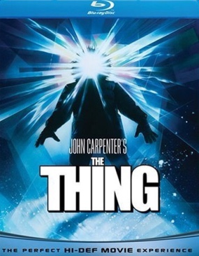 The Thing - Blu-ray cover