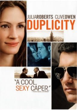 Duplicity - DVD cover