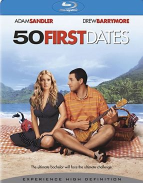 50 First Dates - Blu-ray cover