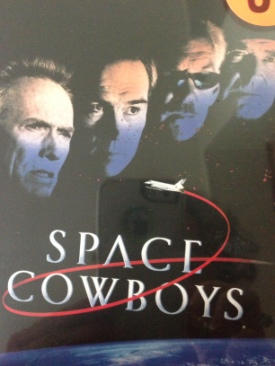 Space Cowboys&Honkytonk Man - DVD cover