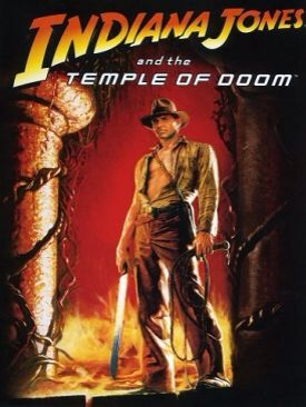 Indiana Jones 2 Indiana Jones and the Temple of Doom - Blu-ray cover