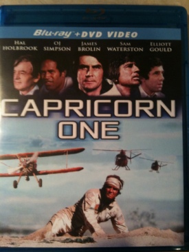 Capricorn One - Blu-ray cover