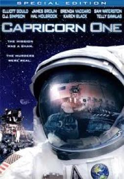 Capricorn One - DVD cover