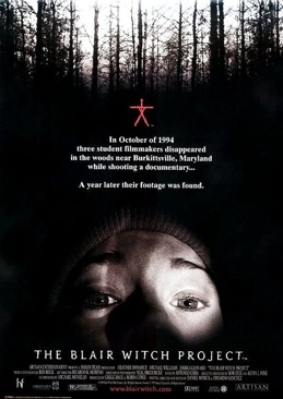 The Blair Witch Project - VHS cover