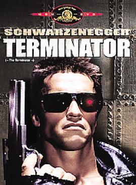 The Terminator - Blu-ray cover
