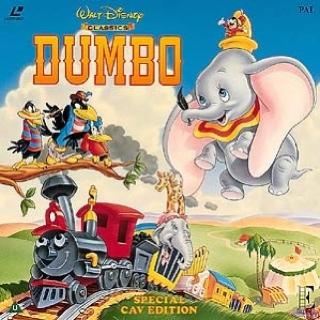 Dumbo - Laser Disc cover