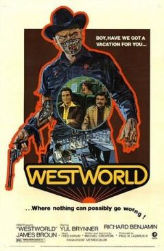 Westworld - Blu-ray cover