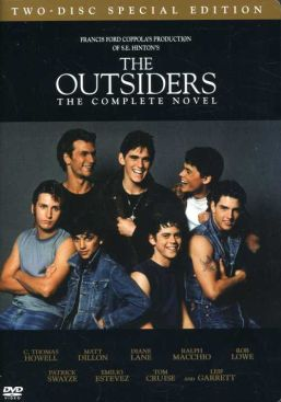 The Outsiders - DVD cover