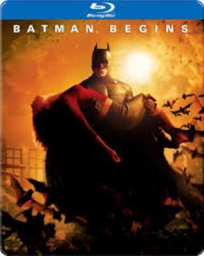 Batman Begins - DVD cover