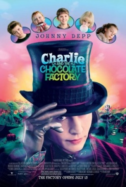 Charlie and the Chocolate Factory - DVD cover