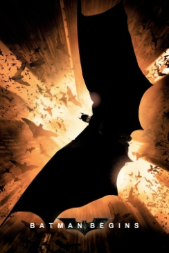 Batman 1 Begins - DVD cover