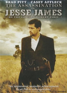 The Assassination of Jesse James by the Coward Robert Ford - DVD cover