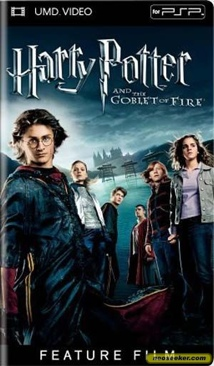 Harry Potter and the Goblet of Fire - UMD cover