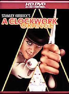 A Clockwork Orange - HD DVD cover