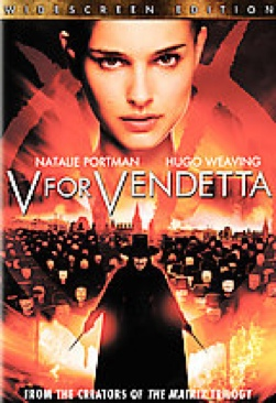 V for Vendetta - DVD cover