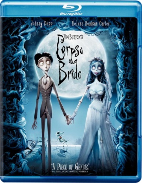 Corpse Bride - Blu-ray cover