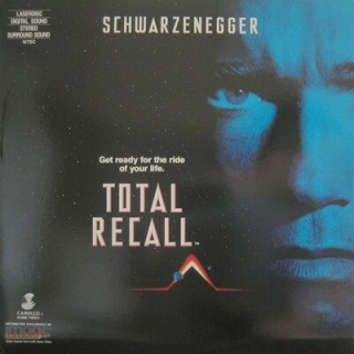 Total Recall - Laser Disc cover