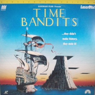 Time Bandits - Laser Disc cover