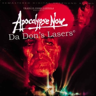 Apocalypse Now - Laser Disc cover