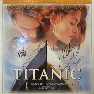 Titanic - Laser Disc cover