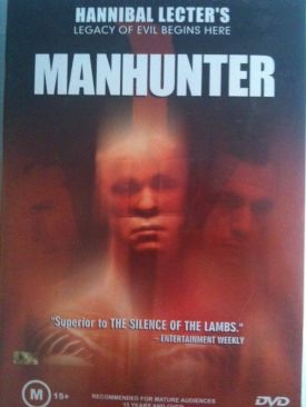 Manhunter - VHS cover