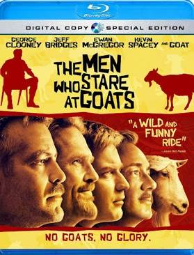 The Men Who Stare at Goats - Blu-ray cover