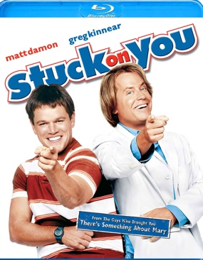 Stuck on You - Blu-ray cover