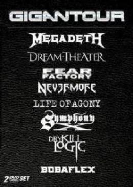 Gigantour - DVD cover