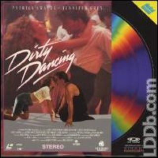 Dirty Dancing - Laser Disc cover