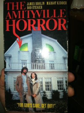 The Amityville Horror - VHS cover