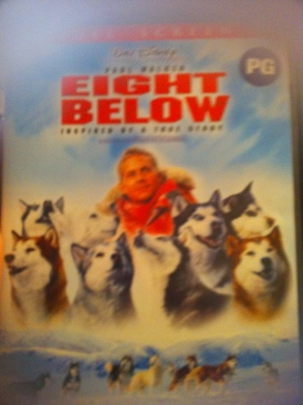 Eight Below - DVD-R cover