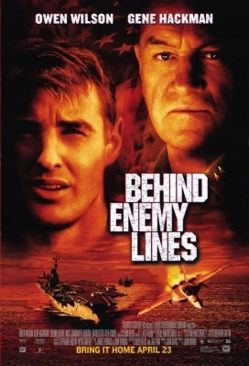 Behind Enemy Lines - DVD cover
