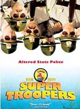 Super Troopers - VHS cover