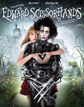 Edward Scissorhands - Blu-ray cover