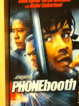 Phone Booth - VHS cover