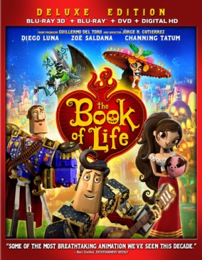 The Book Of Life - Blu-ray cover
