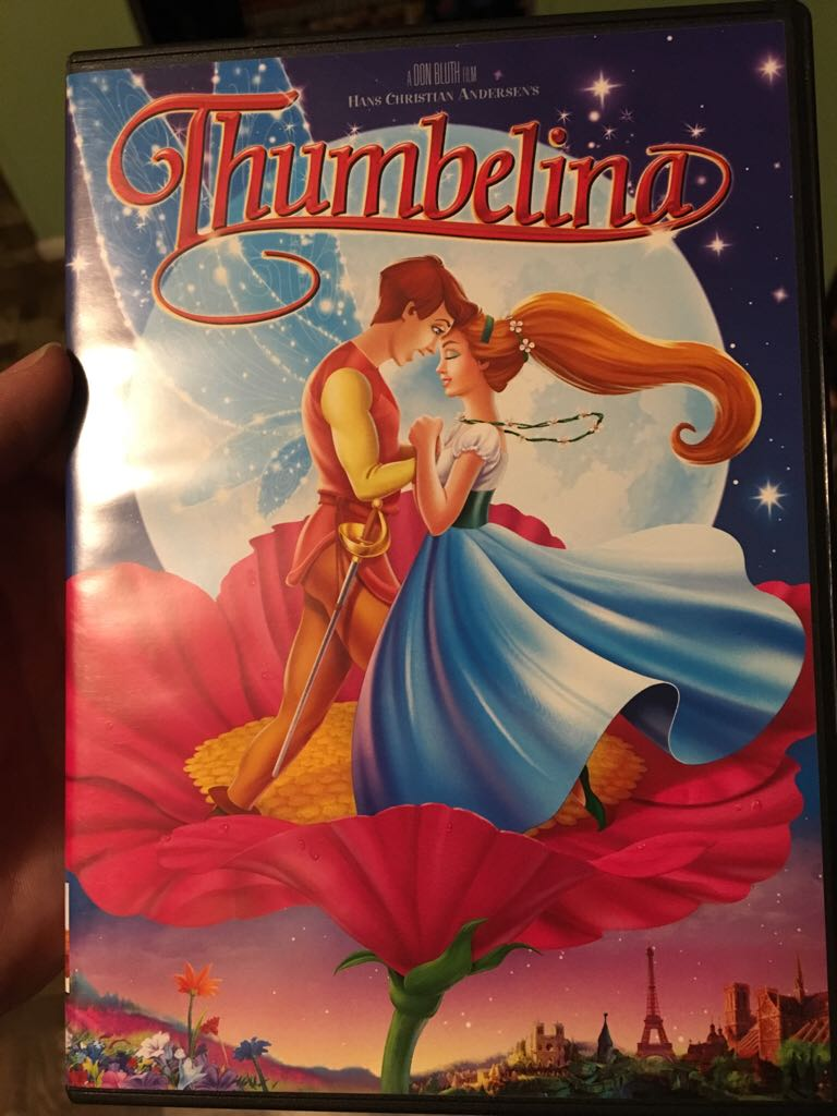 Thumbelina -  cover