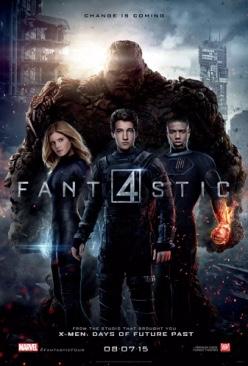 Marvel Fantastic 4 (2015) - DVD cover