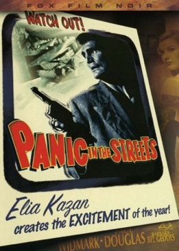 Panic in the Streets - DVD cover