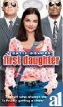 First Daughter - Video CD cover