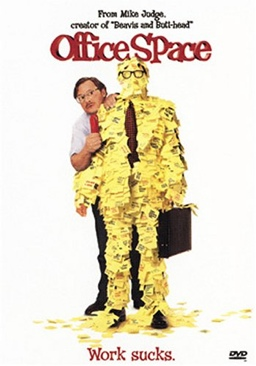 Office Space - DVD-R cover