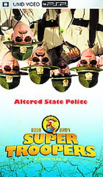 Super Troopers - UMD cover