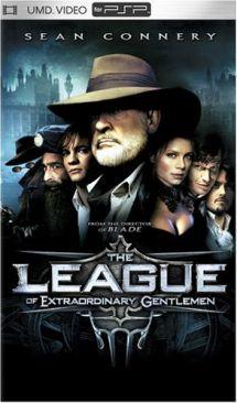The League of Extraordinary Gentlemen - UMD cover