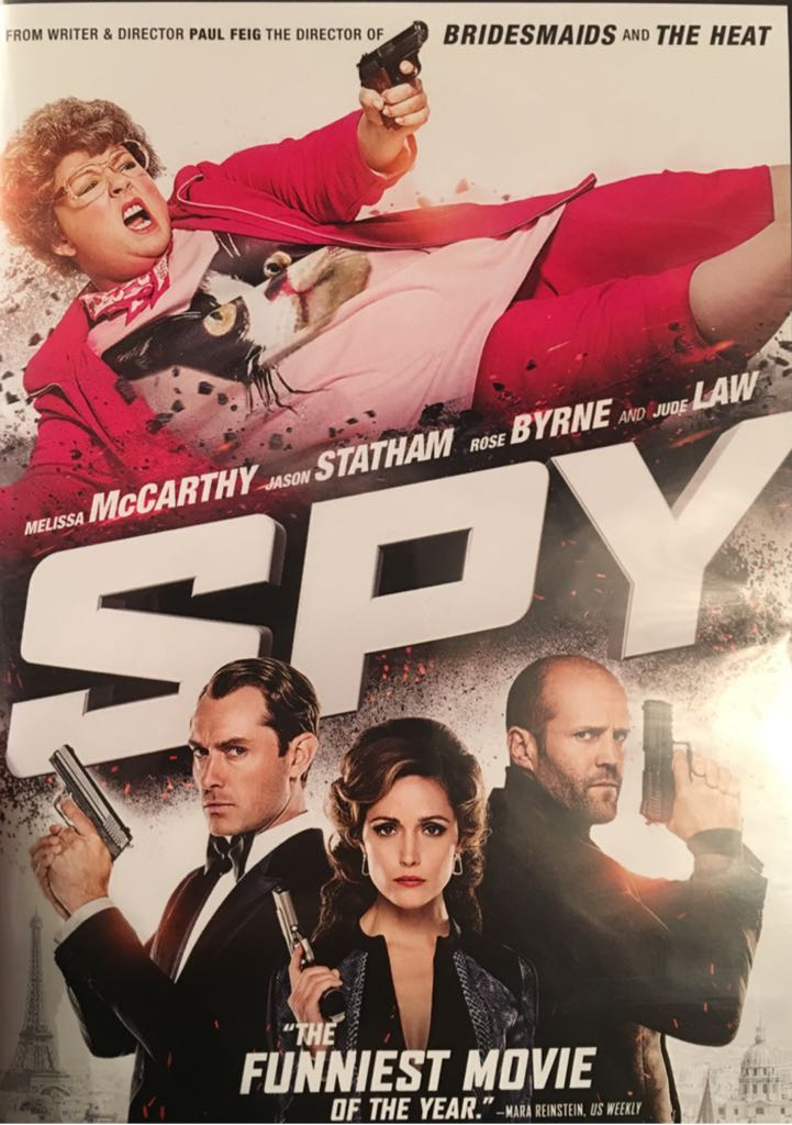Spy - VHS cover