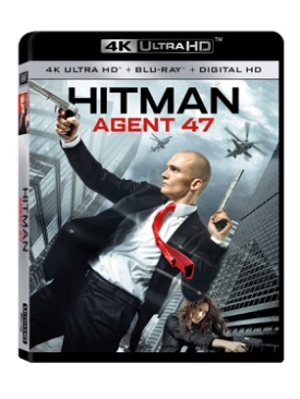 Hitman Agent 47 - UMD cover