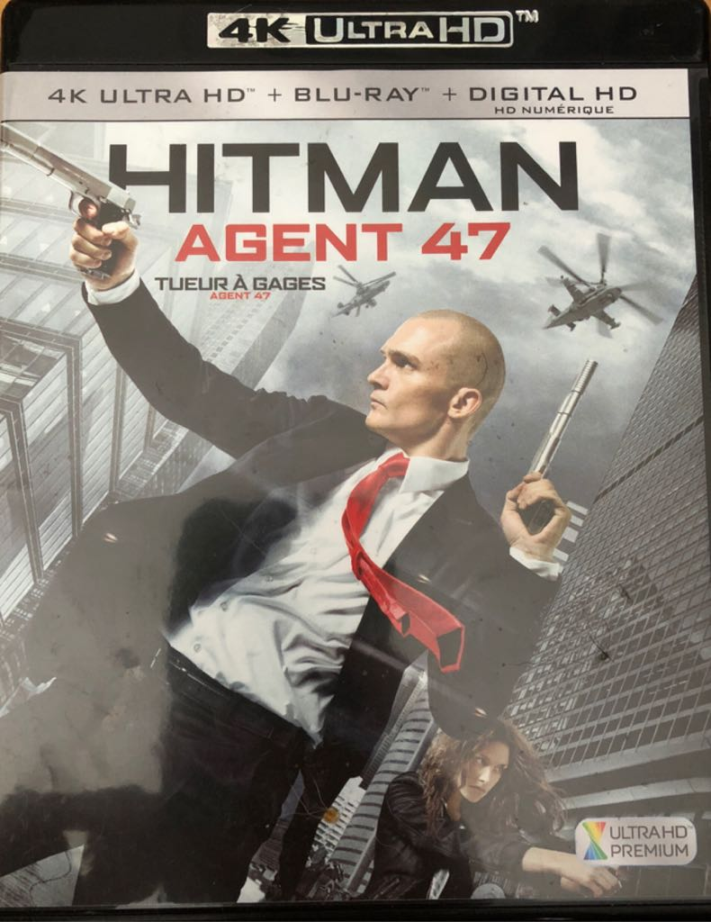 Hitman Agent 47 -  cover