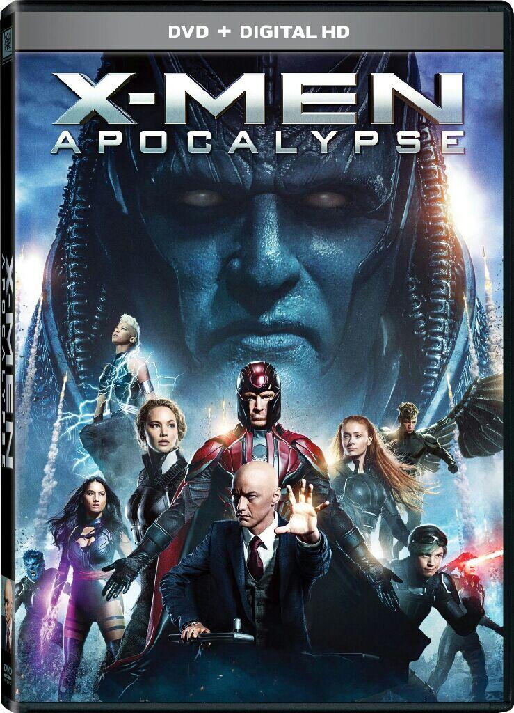 X-Men: Apocalypse - DVD cover